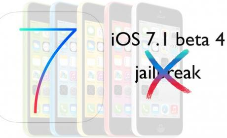 Apple logra eliminar jailbreak en la beta 4 de iOS 7.1