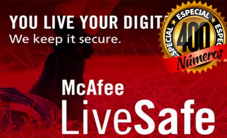 Computer Hoy sortea 5 McAfee LiveSafe con motivo de su número 400