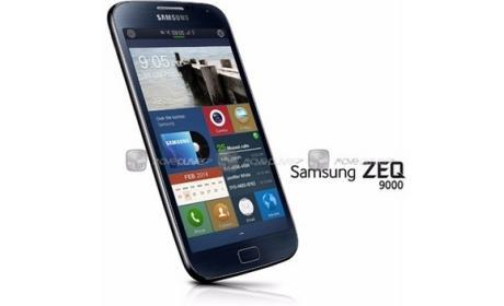 Samsung ZEQ, o Zeke, podría ser el primer smartphone equipado con el sistema operativo Tizen.