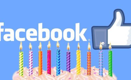 Facebook cumple 10 años