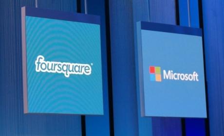 Microsoft firma acuerdo con Foursquare, usará datos de lugares