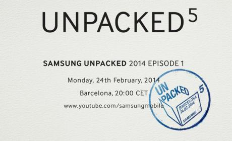 Samsung Galaxy S5 Mobile World Congress
