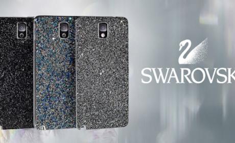 Samsung y Swarovski crean carcasa para el Galaxy Note 3