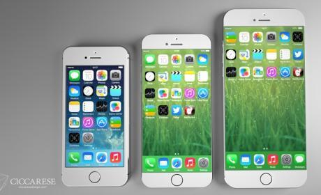 Diseño concepto iPhone 6 Apple Ciccarese