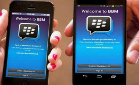 Blackberry Messenger stickers