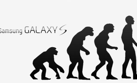 Evolución Samsung Galaxy S