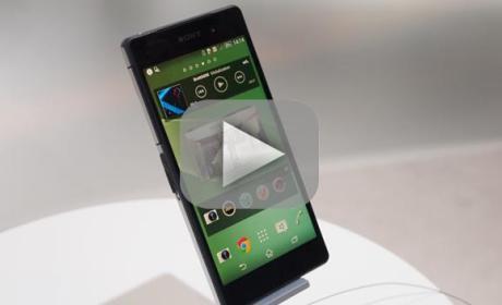 Sony Xperia Z2 en vídeo