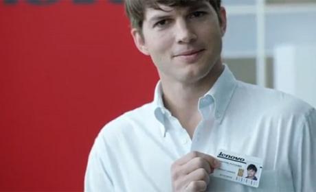 Ashton Kutcher Lenovo smartphone