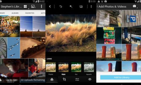 Adobe Revel, app para sincronizar fotos, aterriza en Android