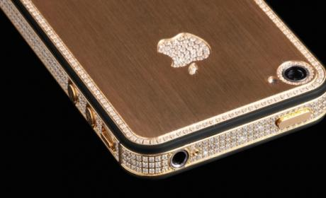 Million Dollar iPhone trae 700 diamantes y oro de 24K