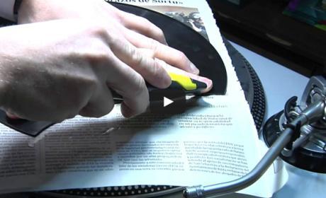 La BNE recupera el sonido de los discos de pizarra