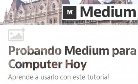 Tutorial para publicar y escribir en Medium