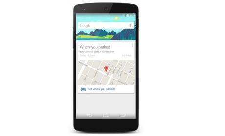 Google Now aparcamiento coche