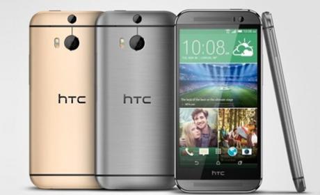 HTC One M8 hecho de plástico en su nueva versión