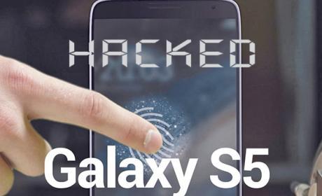 hackeo huella galaxy s5