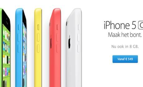 iPhone 5C de 8GB llega a España