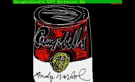 Descubren diseños de Andy Warhol realizados con ordenador Commodore Amiga 1000, perdidos hace 30 años