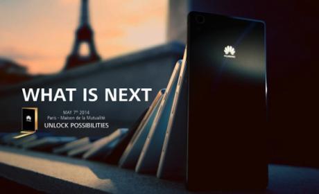 Posible presentación de Huawei Ascend P7 el 7 de mayo