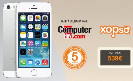 iPhone 5S de 16 GB por sólo 539€ en Xopso