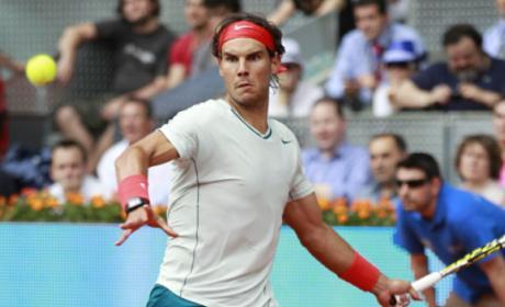 Rafa Nadal en el Mutua Madrid Open 2014