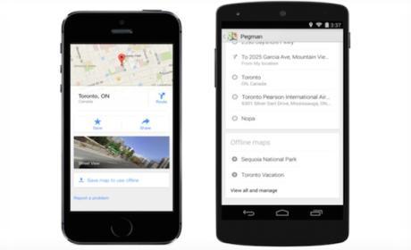 Google Maps apps recibirán actualización