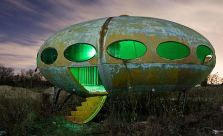 """Casa """"Futuro"""" a la venta por eBay"""