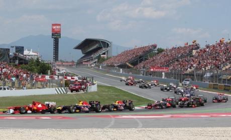 Dónde ver online el GP de España de F1 2014 gratis