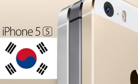 iPhone 5S vence a Galaxy S5 en Corea del Sur