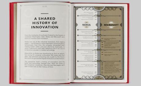El libro muestra la historia compartida de ambas empresas