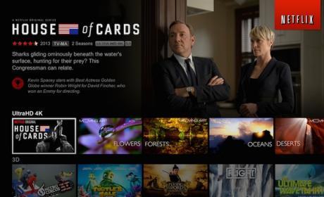 El videoclub online Netflix anuncia su expansión en Europa, pero no llega a España.