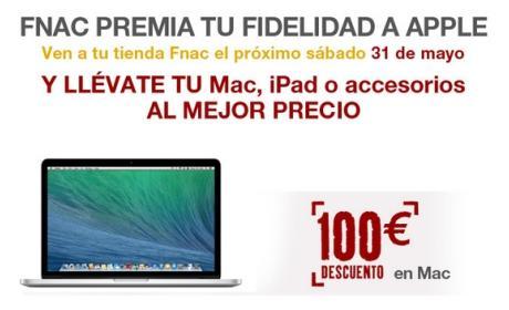 Grandes ofertas y descuentos de FNAC en productos Apple, sólo un día.