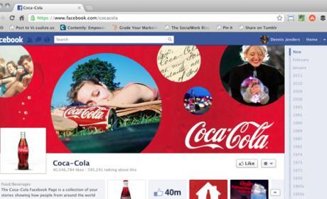 diseño de las páginas Facebook