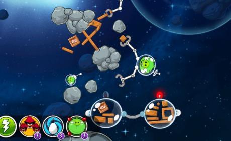 La nueva actualización de Angry Birds Space añade 50 nuevos niveles gratuitos, con contenido de la NASA.