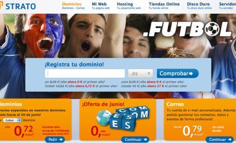 STRATO pone a la venta los dominios .futbol y .tienda