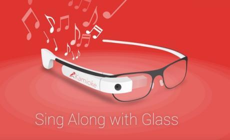 Kamioke, el karaoke de las Google Glass.