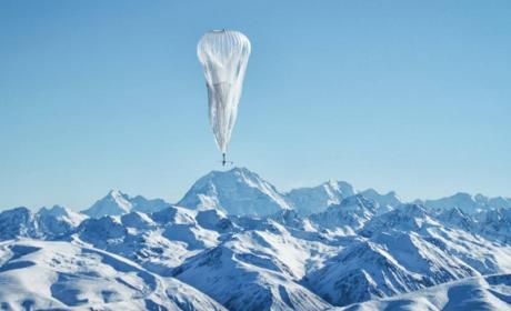 Dos globos de Project Loon de Google se estrellan. A otro lo confunden con un OVNI.