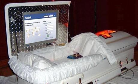 redes sociales tras la muerte