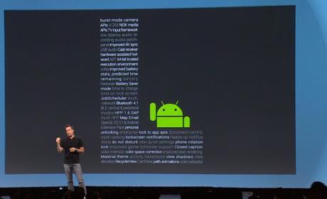 Smartphones con Android L