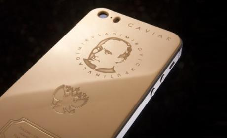 """Caviar iPhone 5S Supremo Putin"": el lujoso iPhone de 4.363$"