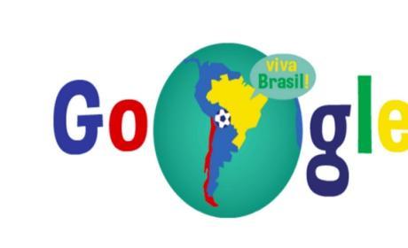 El último doodle de Google, dedicado al partido del Mundial Brasil - Chile, ha causado polémica al otorgar parte del territorio de Argentina, en Tierra de Fuego, a Chile. También metió la pata con un doodle dedicado a las favelas.