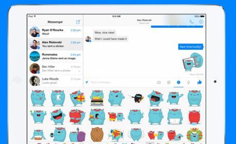 Facebook Messenger para el iPad