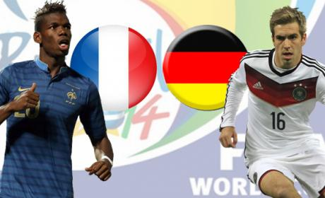 Francia vs Alemania