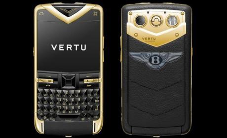 """Vertu lanza la gama de móviles de lujo """"Vertu for Bentley"""""""