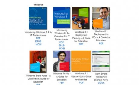 Microsoft regala 300 ebooks gratis sobre Windows, Office,SharePoint, SQL, Azure, etc.
