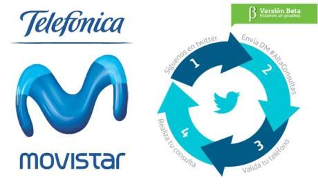 Movistar estrena servicio de Consultas Automatizadas a través de Twitter.
