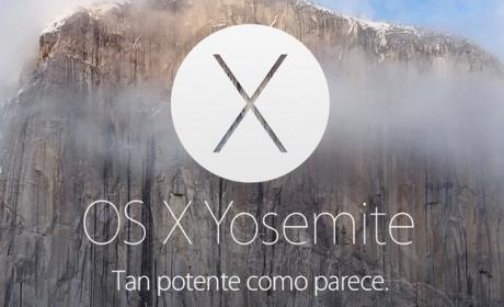 La beta pública de OS X Yosemite, mañana 24 de julio