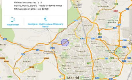 Localizar smartphone android