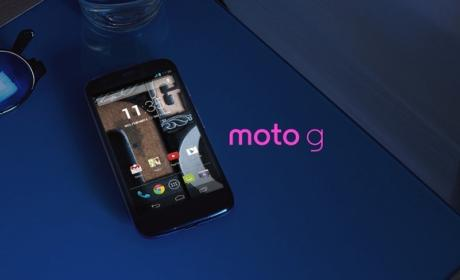 El Moto G de Motorola recibe la actualización Android 4.4.4 KitKat en España.