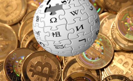 Wikipedia bitcoin donación