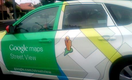 Google maps coche